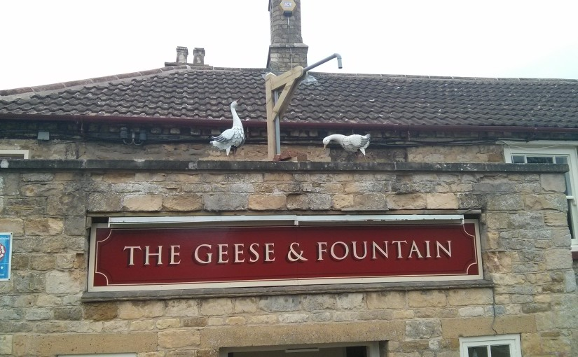 Welcome to the Geese and Fountain