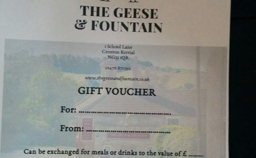 Give the gift of Geese (and Fountain)