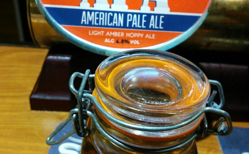 New on the bar: Charnwood American Pale Ale on keg
