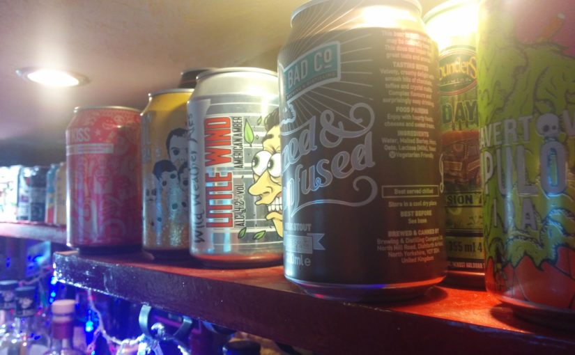 Twelve Gifts of Christmas: 12 – Twelve cans of craft beer for £36