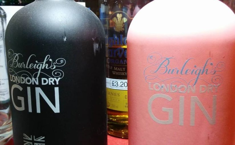 Twelve Gifts of Christmas: 4 – Burleigh's Gin Tasting tickets