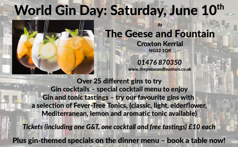 World Gin Day: 25 gins, a night to remember. If you can.