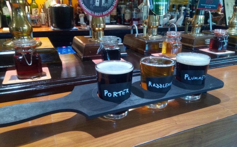 Not sure what to drink? Try three beers at once!