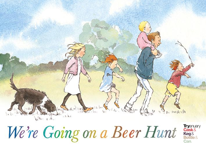 We're going on a beer hunt