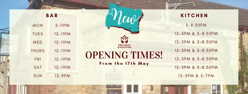 Open inside from May 17th – we hope